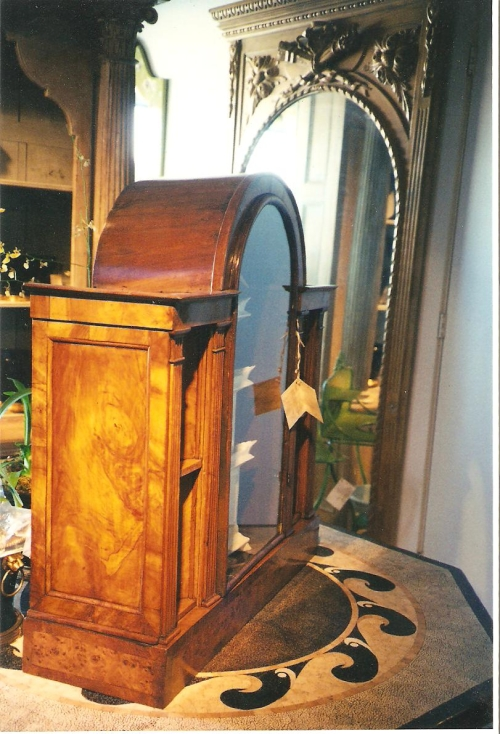 Display Cabinet Restored - Before