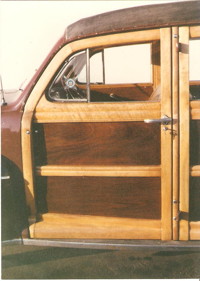 Woody Car - Woodwork Completely Restored