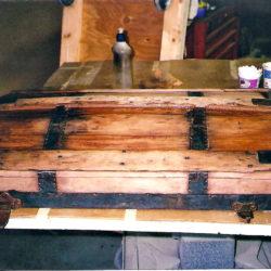 Trunk lid during restoration