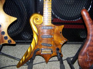Custom Guitar Designed By Mark Fry