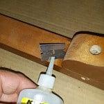 Repair Antique Vanity Bench