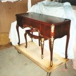 Rosewood Gilded Bedroom Set