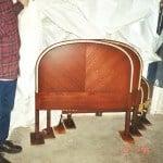 Rosewood Guilded Bedroom Set Refinished.