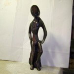 Ebony Wood Sculpture Repair