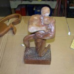 Mahogany Figure Sculpture Restoration